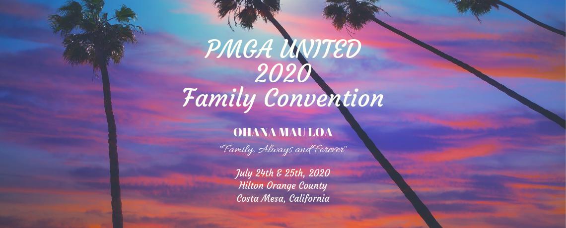 PMGA United - 2020 Family Convention